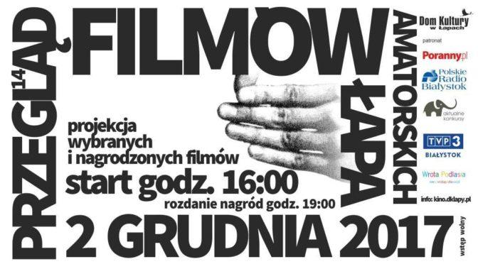 14. Przegląd Filmów Amatorskich Łapa 2017